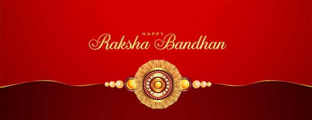 Bandiera di festival di religione indù raksha bandhan