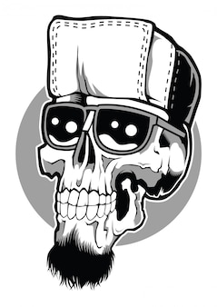 ヒップホップの頭蓋骨