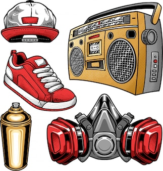 Hip hop and urban elements