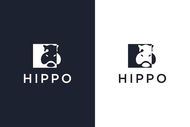 Hippopotamus logo type