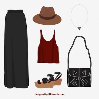 Hippy clothes collection