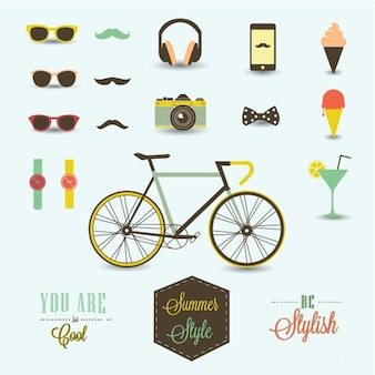 Hipster elements