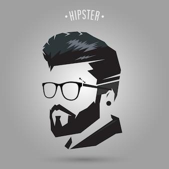 Hipster hair cut