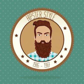 Hipster lifestyle and fashion accesories