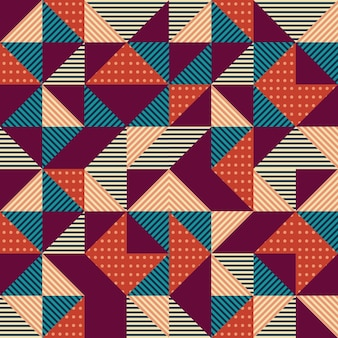 Hipster trendy seamless background