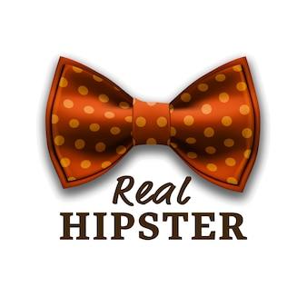 Настоящий логотип hipster
