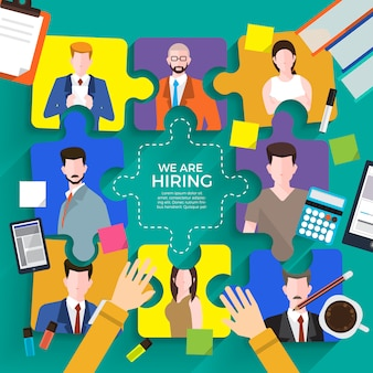 Hiring business people