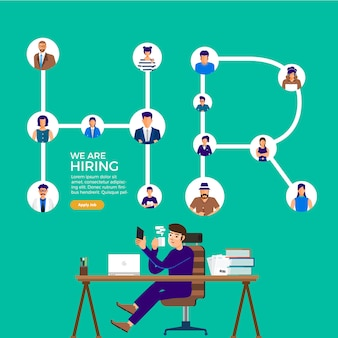 Hiring business people