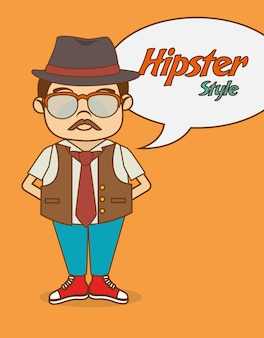 Hispter lifestyle and fashion
