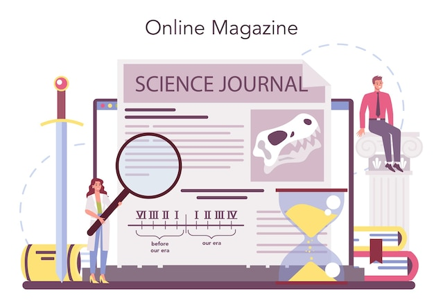 Historian online service or platform