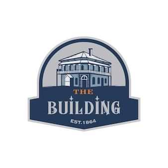 Historical Building Emblem