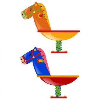 Цветные hobbyhorses комплект