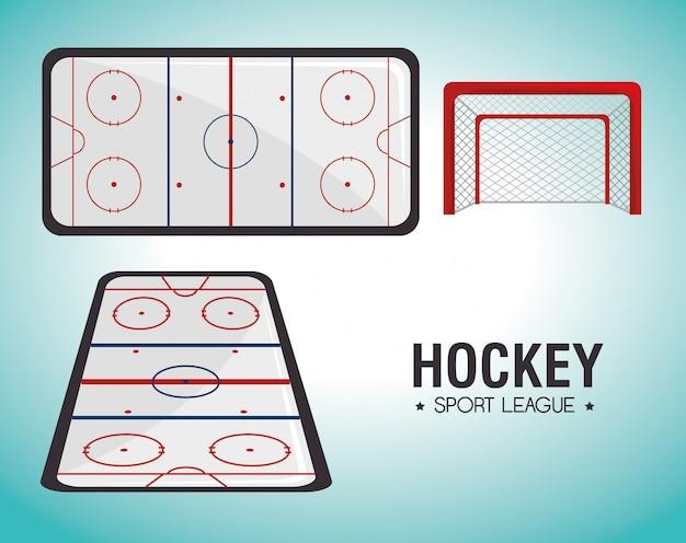 Hocket sport game