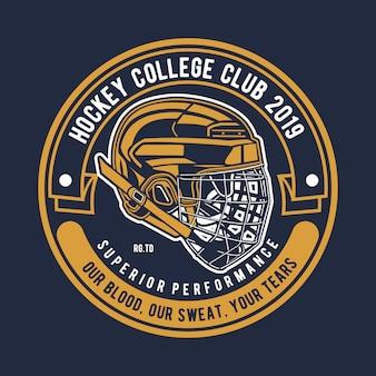 Hockey badge logo