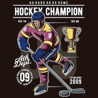 Hockey champion