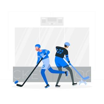 Hockeyconcept illustration