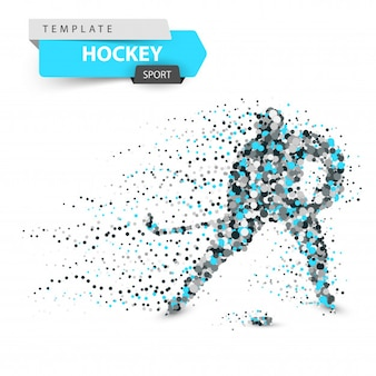 Hockey dot template