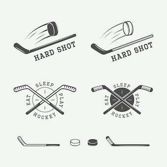 Hockey emblems