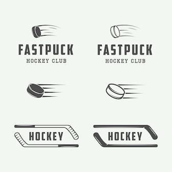 Hockey emblems