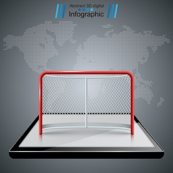 Hockey gates icons