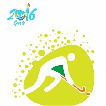 Hockey olympics icon