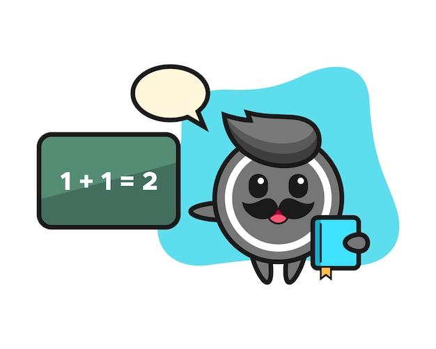 교사로 하키 퍽 만화
