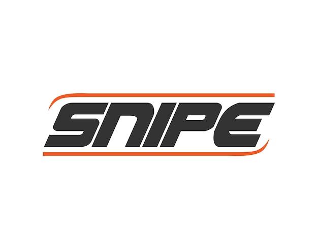 Hockey stick making company logo design