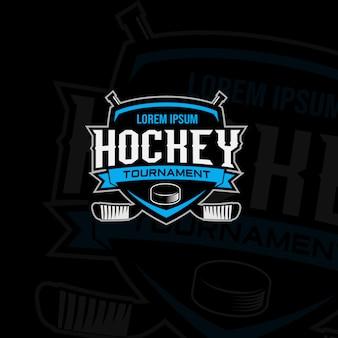 Hockey tournament logo