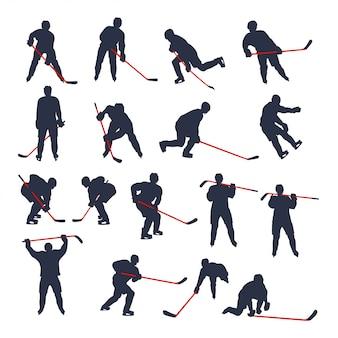 Хоккейный двухцветный комплект