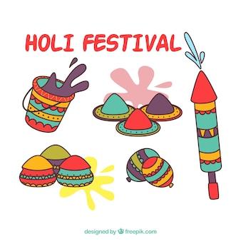 Holiのデザイン要素