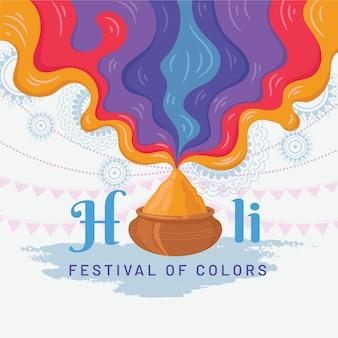 Holi 축제 배경