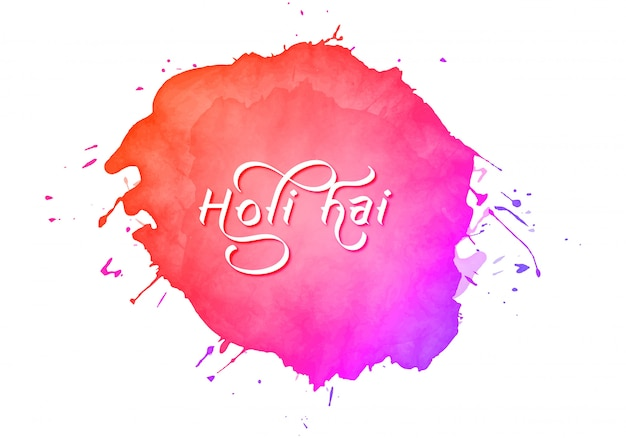 Holi festival colorful greeting card background