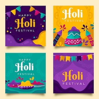 Post di instagram del festival di holi