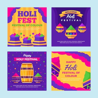 Холи фестиваль посты в instagram