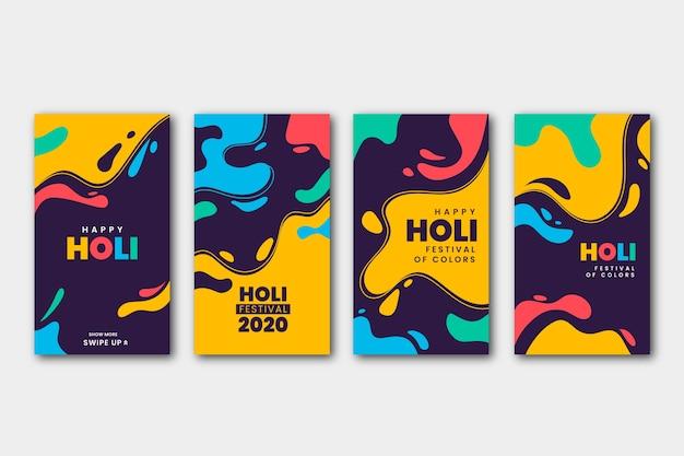 Holi 축제 instagram 이야기 모음