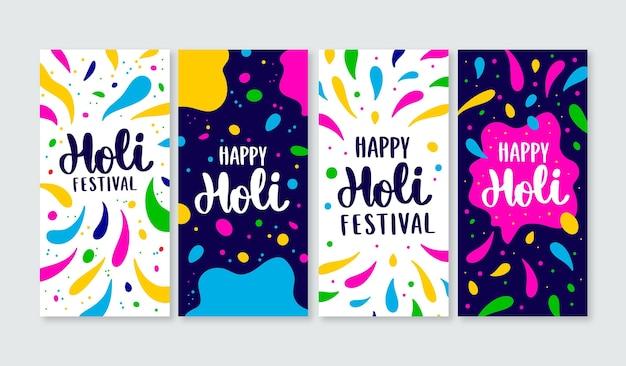 Holi festival instagram stories