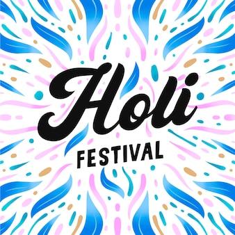 Lettering festival di holi
