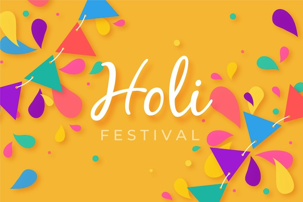 Holi festival wallpaper