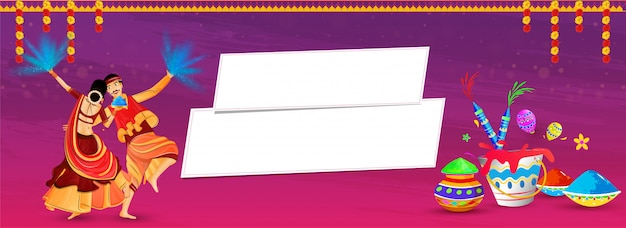 Holi headers banner