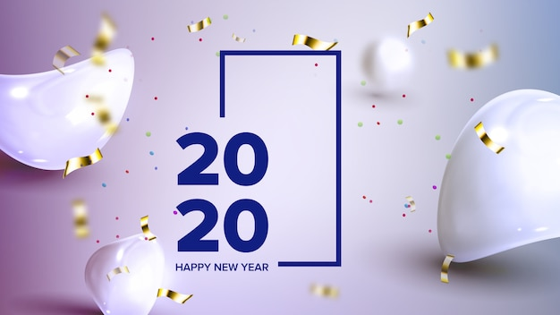 Holiday celebrating 2020 banner
