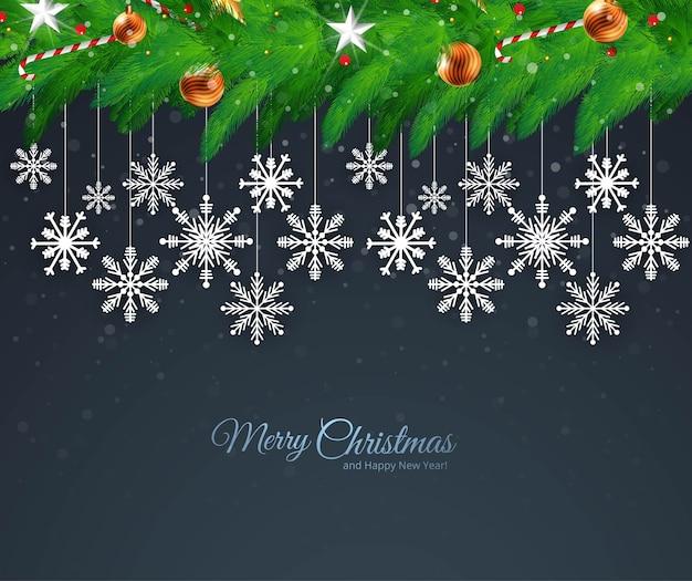 休日のクリスマスと新年の挨拶