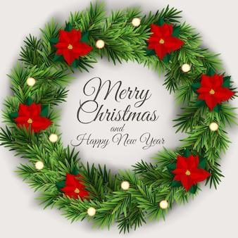 Праздник нового года и счастливого рождества фон
