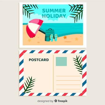 Holiday postcard