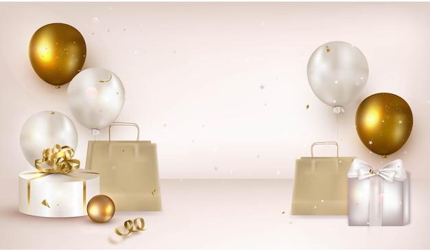휴일 베이지 색 배경 디자인