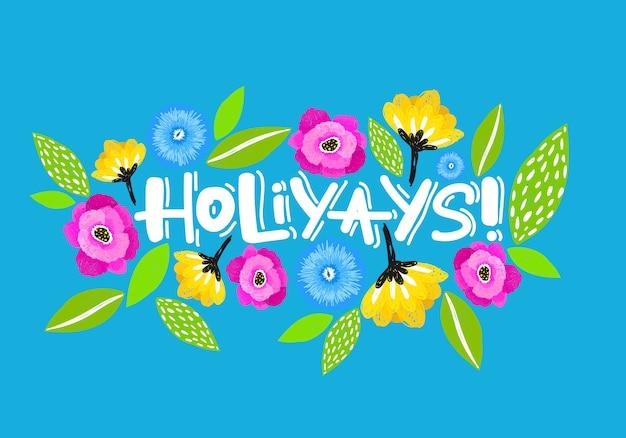 Holiyays card