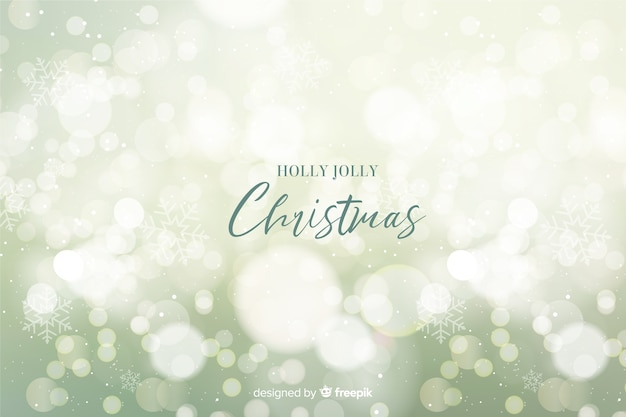 Холли веселый рождественский фон