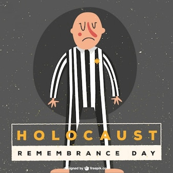 Holocaust remember day illustration