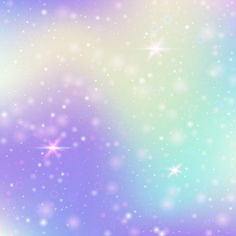 Hologram abstract background. colorful gradient backdrop with hologram. 90s, 80s retro style. pearlescent graphic template for brochure, flyer, poster design, wallpaper, mobile screen.