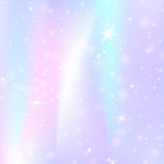 Holographic abstract background. liquid holographic backdrop with gradient mesh. 90s, 80s retro style. iridescent graphic template for banner, flyer, cover design, mobile interface, web app.