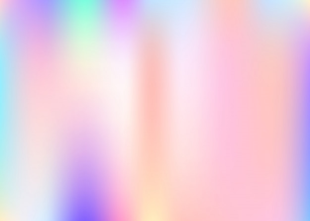 Holographic abstract background.
